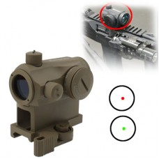 AIMPOINT Micro T1 Quick Mount Red/Green Dot Sight TAN