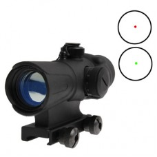 Precise Rubber Coated Metal 4X Tactical Scope with Elevation Adjustment