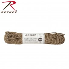 Rothco Paracord 100' 6-COLOR DESERT