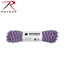 Rothco Paracord 100' RED/BLUE/WHITE