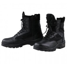 Tru Spec Tactical Side Zipper Boots BLACK