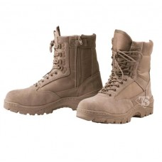 Tru Spec Tactical Side Zipper Boots TAN